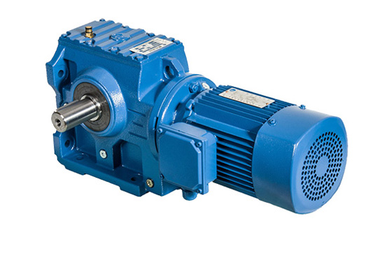 S Series Helical - Worm Geared Motor